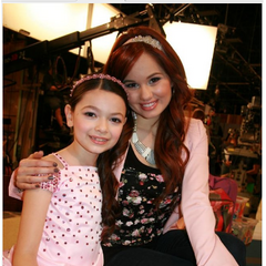 Debby Ryan And Nikki Hahn Photo Found From behind the scenes
