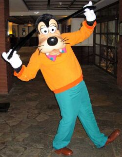 Goofy in his Goof Troop outfit