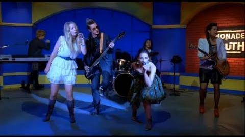 Lemonade Mouth - Livin' On A High Wire (Bridgit Mendler & Adam Hicks & Naomi Scott) HD 1080p