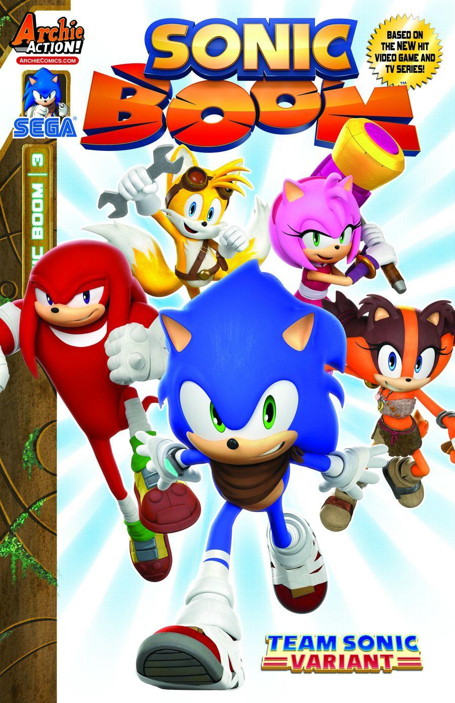 Sonic Boom (TV Series) | Japanese Anime Wiki | Fandom ...