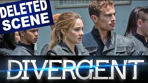 DIVERGENT Deleted Scene Attacked in the Night