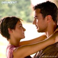 Four and Tris In Insurgent in The Amity Compound