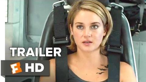 The Divergent Series Allegiant Official Trailer 1 (2016) - Shailene Woodley Movie HD