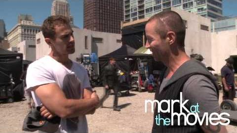Divergent Behind the Scenes with Theo James