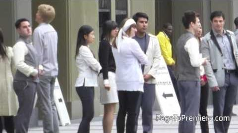 Divergent Set Video Young citizens from Erudite, Abnegation, Dauntless, Amity, and Candor!