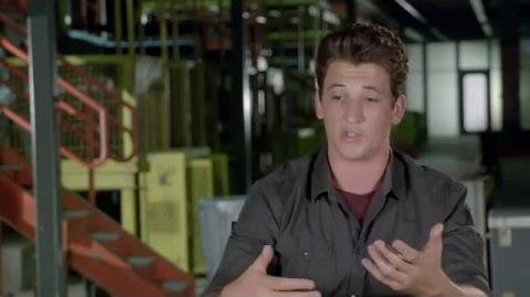 "Allegiant ""Peter"" Behind The Scenes Interview - Miles Teller - The Divergent Series"