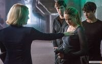 Jeanine and tris still