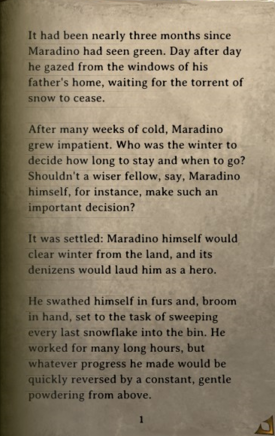 DOS Items Books Maradino's Cold Bones Page1