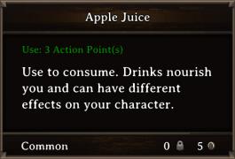 DOS Items FnD Apple Juice
