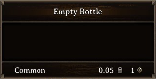 DOS Items Misc Empty Bottle Stats