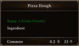 DOS Items FnD Pizza Dough