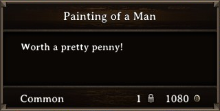 DOS Items Precious Painting of a Man2 Stats