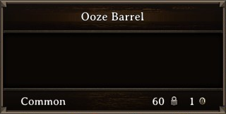DOS Items CFT Ooze Barrel Stats
