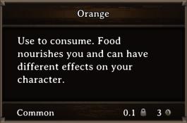 DOS Items FnD Orange