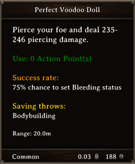 DOS Items CFTX 10.5 Perfect Voodoo Doll