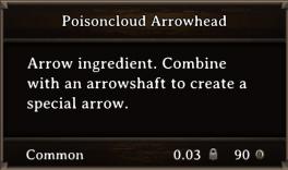 DOS Items CFT Poisoncloud Arrowhead