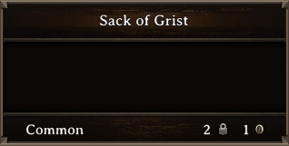 DOS Items Quest Sack Of Grist
