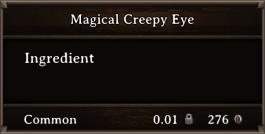 DOS Items CFT Magical Creepy Eye