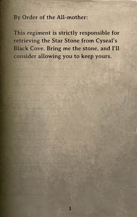 DOS Items Books Orders (orc beach) Page