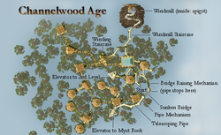 Channelwood map