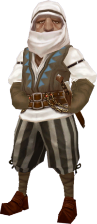 Adventurer's Guild Master Omar