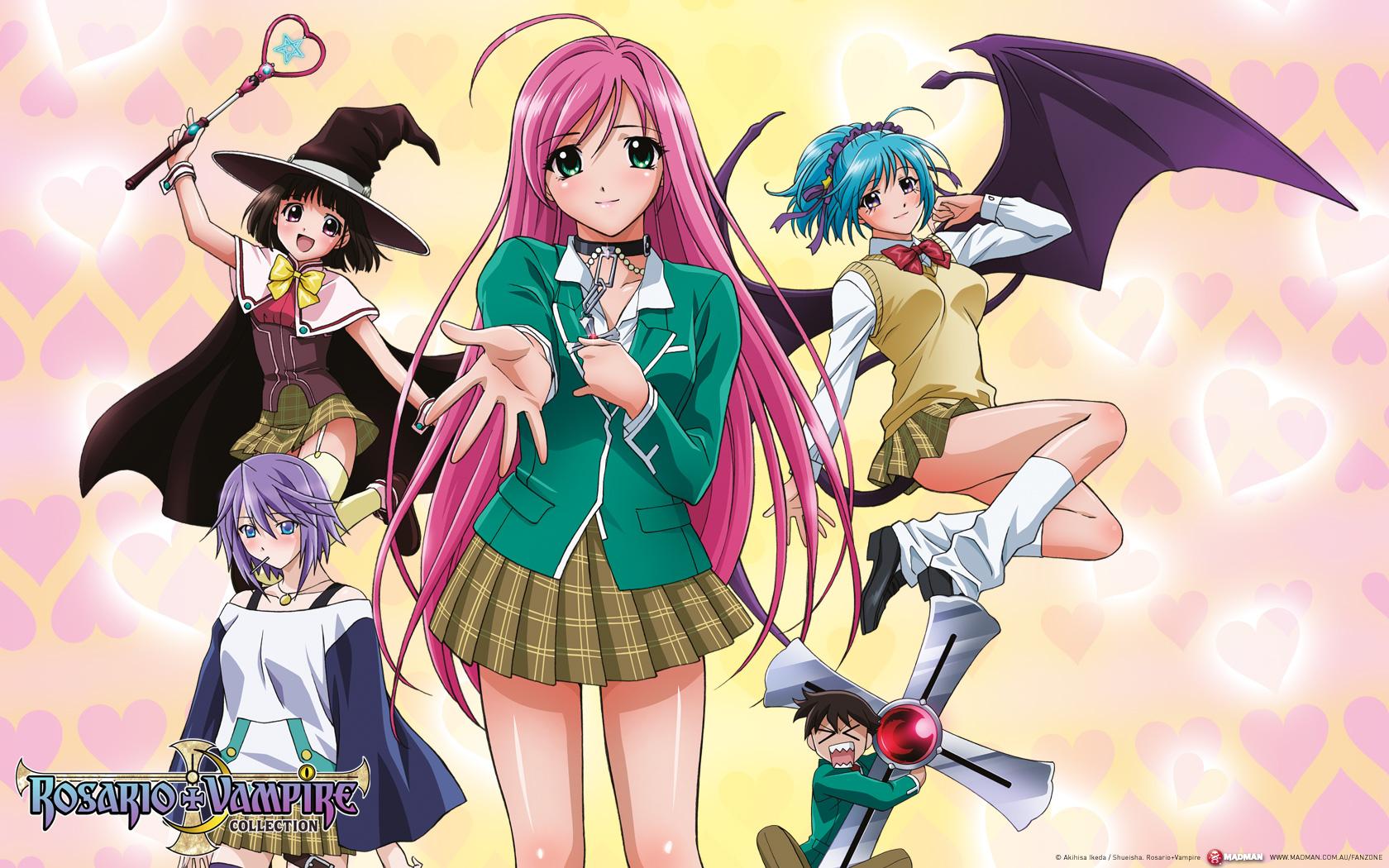 cute anime girl moka wallpaper - photo #4