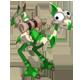 Almond and Emerald Dragoturkey