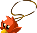Rotes Piepmatz-Set