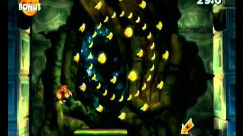 Donkey Kong Country Returns 100% Video Walkthrough 1-2 Kong of Cling
