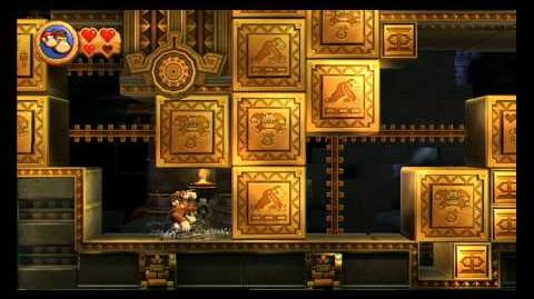 Donkey Kong Country Returns ~ World 3-K (Shifty Smashers) Puzzle Piece Guide