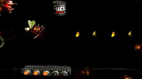 Donkey Kong Country (SNES) - Chimp Caverns - Tanked Up Trouble