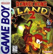 Donkey Kong Land 2 Box Art