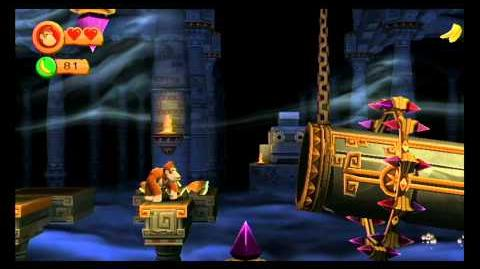 Donkey Kong Country Returns ~ World 4-K (Jagged Jewels) Puzzle Piece Guide
