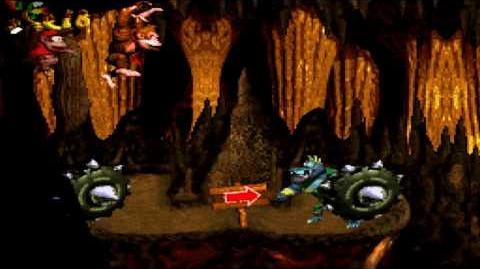 Donkey Kong Country (SNES) - Gorilla Glacier - Torchlight Trouble