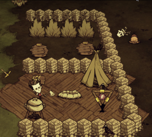 Ring Of Flowers And A Ring In Dont Starve