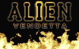 AlienVendetta-Splashscreen