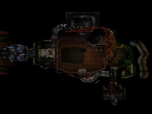Classic Doom E1M1 Overhead