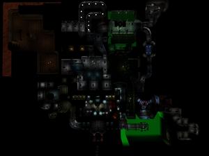 Classic Doom E1M7 Overhead