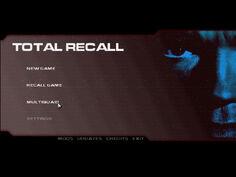Total Recall Main Menu.