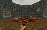 Lost episodes of doom e1m5 teleporter stuff