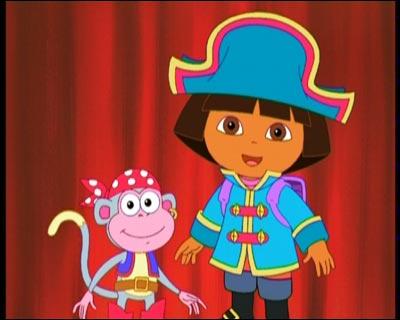 image dora and boots as piratesjpg dora the explorer
