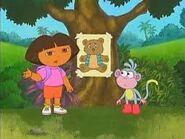Dora looking for teddy bear