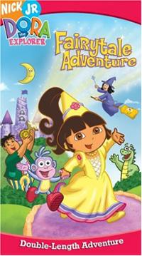 Dora's Fairytale Adventure (VHS) | Dora the Explorer Wiki ...