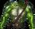 Chest frog beastman illusion