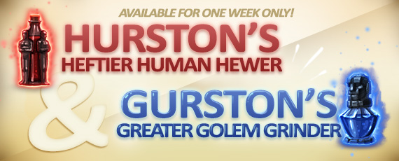Scroller hurstons gurstons potions