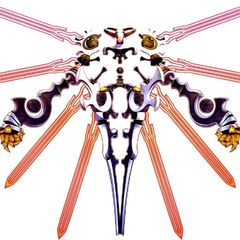 Avatar Skeith: Third Form, used by the Adept Rogue Haseo.