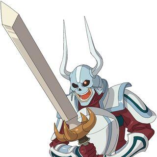Silver Knight - Cross Rengeki