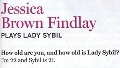 Sybil's age