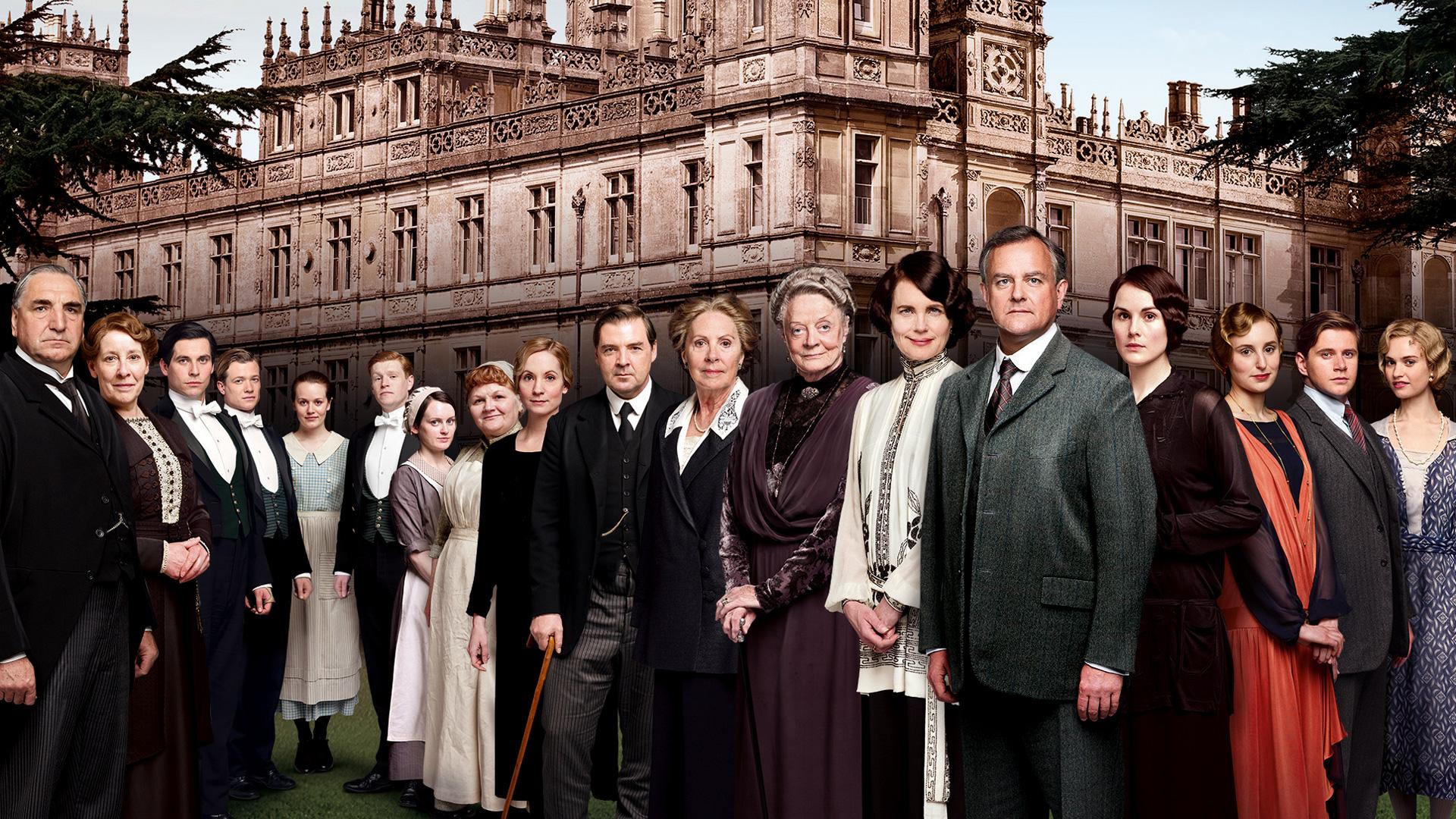 Image - Downton-Abbey-s4-series-4-cast-promo.jpg | Downton Abbey ...