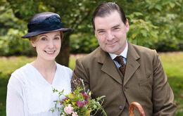 Downton 2 bates and anna's wedding